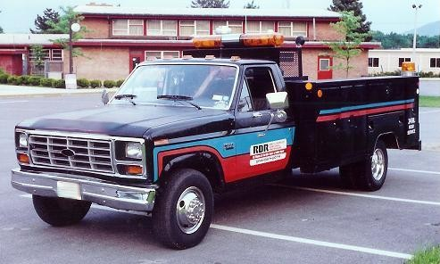 1985 Ford F350 Service Truck.